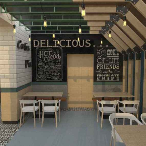 Design interior: cofetarie #MN 1